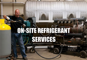 On-Site Refrigerant Services