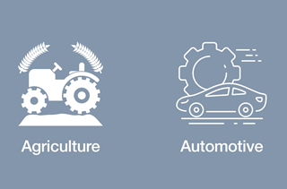 Agriculture and  Automotive
