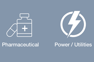Pharmaceutical and Power & Utilities